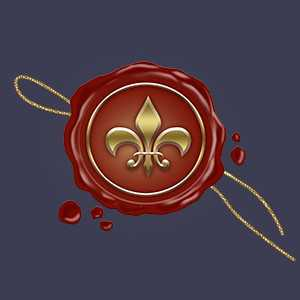 """геральдическая лилия, логотип блога """"Брожение умов"""", блог Виктора Кислова"""