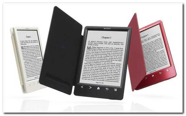 электронная книга, электронные книги, книга Sony