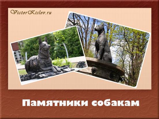 памятники-собакам